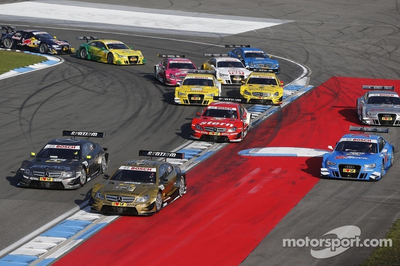 New timing in the DTM: start at 13.30 h