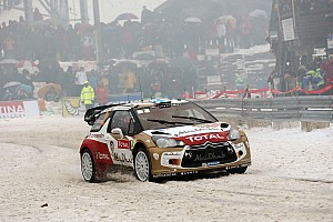 WRC Preview Rally Sweden - Four Citroen aces on ice