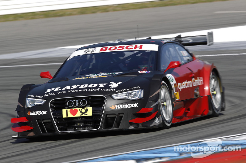 Audi completes driver line-up for 2013 DTM