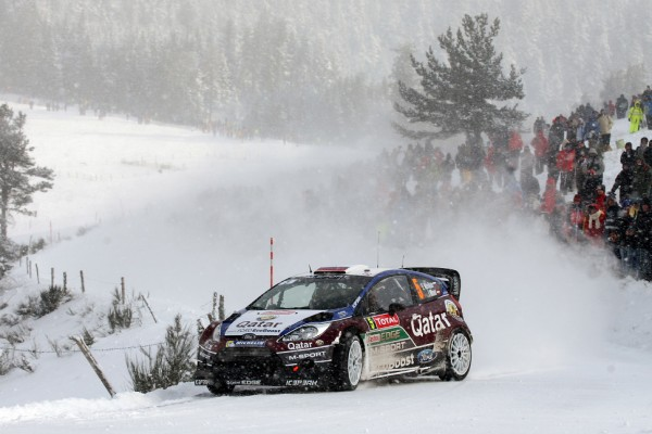 Wilson to stand in for Al-Attiyah in Rally Sweden
