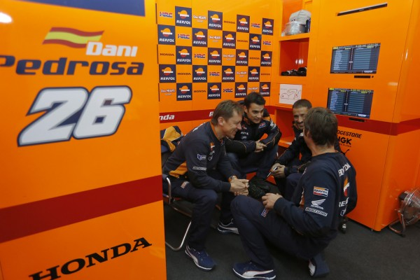 Pedrosa leads on day two of Sepang MotoGP test