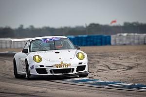 ALMS Testing report Porsche customer teams off to a fast start in winter testing at Sebring