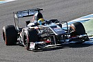 Gutiérrez completed 142 laps in the Sauber C32 on day 4 in Jerez