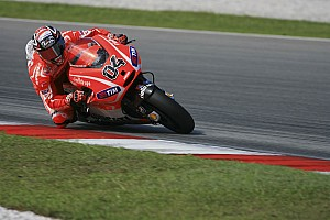 Ducati Team's 2013 season starts with first official test at Sepang