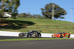 Endurance Qualifying report First Bathurst pole for Erebus Motorsport and AMG Customer Sports