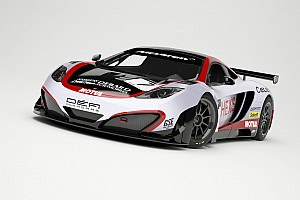 Endurance Breaking news The Hexis Racing McLarens resplendent in their 2013 livery prepare to start testing