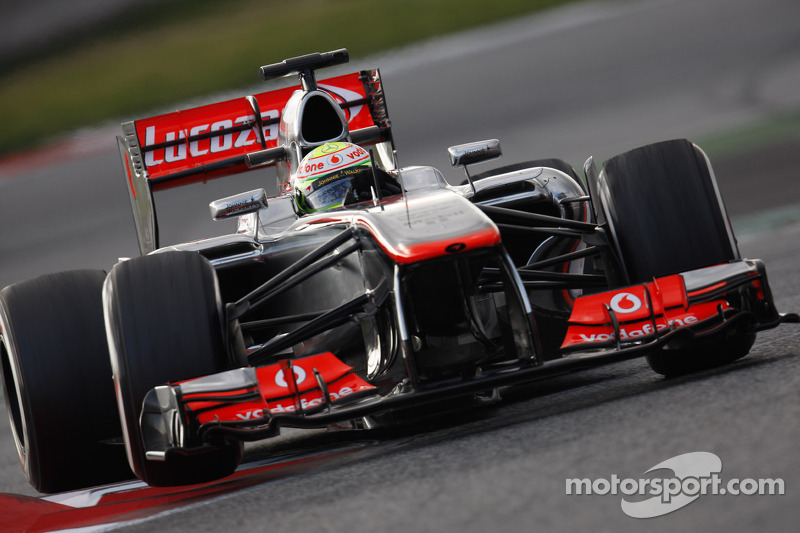 A productive first testing day for McLaren in Barcelona