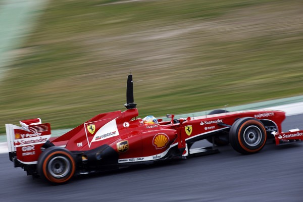 Alonso tops the speedcharts on third day of testing in Barcelona