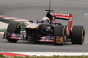 Vergne set the hightest number of laps for the STR8 on day 3 testing in Barcelona