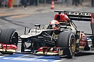 Grosjean and Lotus had an uninterrupted day 3 testing in Barcelona