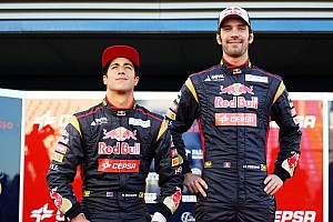 Toro Rosso teammates no longer friends
