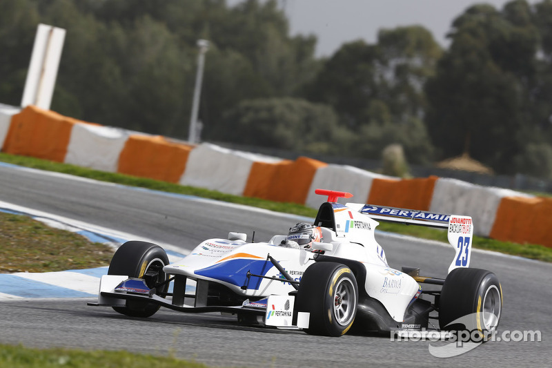 Trident Racing hits the top in Estoril test