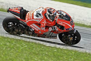 MotoGP Testing report Ducati: First day of Sepang test marked by bad weather
