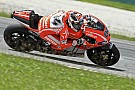 Ducati: First day of Sepang test marked by bad weather
