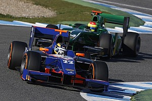 GP2 Testing report Dillmann still on top in Jerez testing on day two
