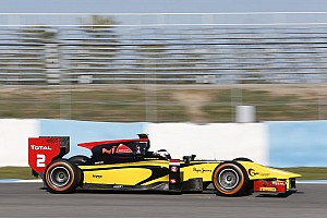 GP2 Testing report Richelmi always at the Top of the ranking in the three days of tests in Jerez