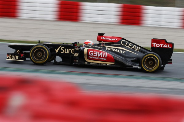 Busy second day in Barcelona for Grosjean, Sutil and Bianchi