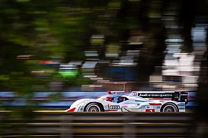 ALMS Qualifying report Record lap of the Audi R18 e-tron quattro in qualifying at Sebring