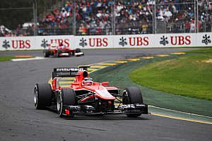 Formula 1 Race report Good season start for Marussia at Australian GP