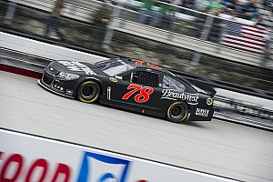 NASCAR Sprint Cup Race report Kurt Busch closes strong to finish 4th in Bristol