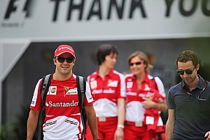 "Massa: ""we need to make sure we progress race by race"""