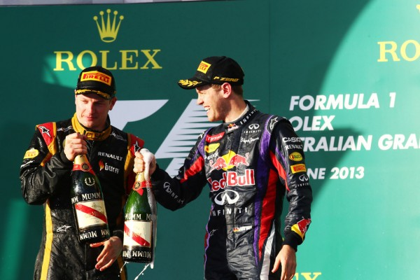 Raikkonen friendship can survive F1 battle - Vettel