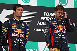 Vettel apologises for stealing Webber's win