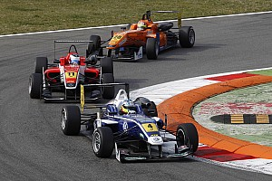 F3 Europe Race report King scythes through the spray to nab top ten double on debut weekend in Monza
