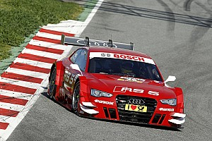 DTM Testing report Important test for the Audi RS 5 DTM in Barceleona