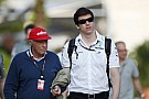 Wolff denies Lauda 'power struggle'