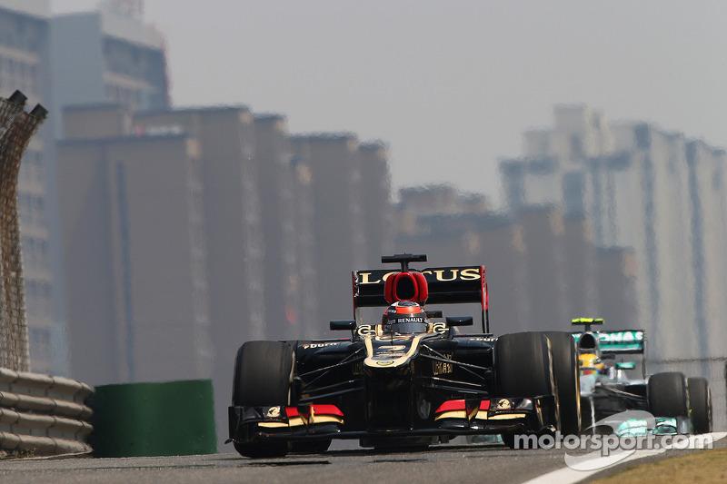 Raikkonen set the second fastest time on Friday practice in Shanghai
