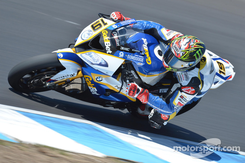 BMW's Davies finished third in today's Superpole at Motorland Aragón