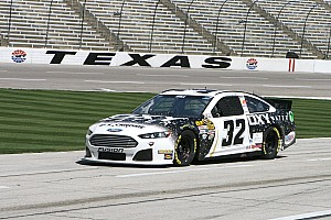 NASCAR Sprint Cup Race report Hill steers No. 32 Ford to 36th place Texas finish