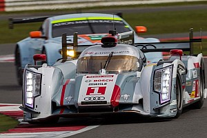 Le Mans Breaking news Four Audi R18 e-tron quattro cars at test day for the Le Mans 24 Hours