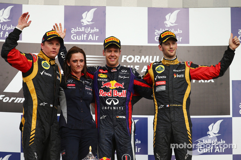 Podium finish for both Lotus F1 drivers at Bahrain