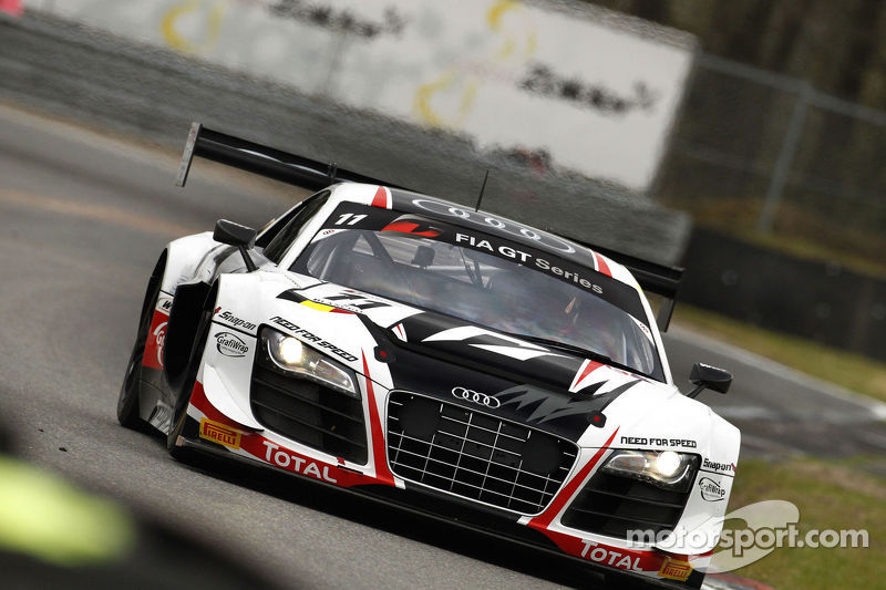 The Belgian Audi Club Team WRT shines at home in Zolder