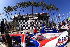 Sato stars as Honda rolls through Long Beach
