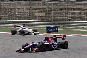 GP2 Race report Palmer shows fighting spirit to score valuable points in Bahrain