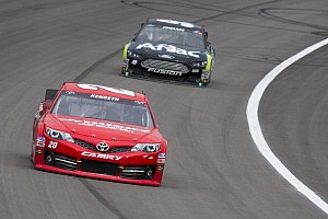 NASCAR Sprint Cup Breaking news TRD statement regarding No. 20 engine issue after Kansas race