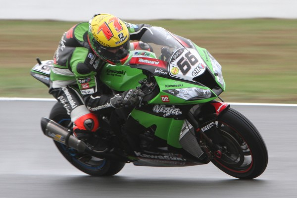Sykes uncatchable in Friday qualifying on rainy day in Assen