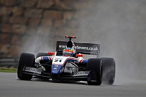 Formula 3.5 Race report Will Stevens delivers sensational podium finish at Motorland Aragon