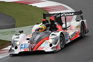 The ORECA 03 LM P2 defending its leader status at Spa-Francorchamps