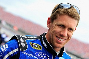 NASCAR Sprint Cup Qualifying report Rain washed out qualifications at Talladega, Edwards on pole