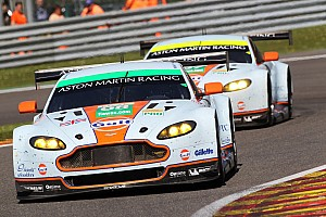 WEC Race report Aston Martin secures double WEC podium at Spa