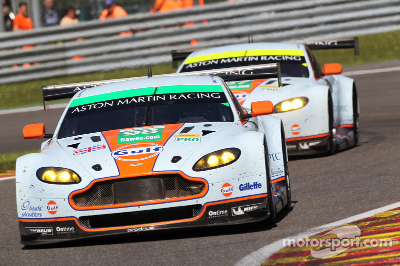 Aston Martin secures double WEC podium at Spa