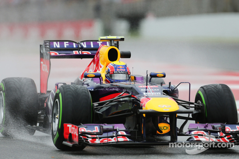 Good Friday practice for Red Bull at Circuit de Catalunya