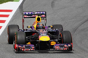 Vettel qualify in 3rd place and Webber in 8th for the Spanish GP