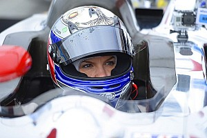 ALMS Commentary Katherine got her ride in Monterey – It's the DeltaWing!