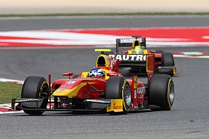 GP2 Race report Fabio Leimer just miss out on the points today at Barcelona