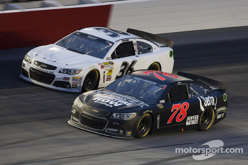 Kurt Busch finishes 14th in Darlington